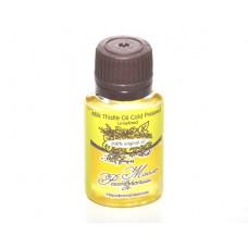 Масло  РАСТОРОПШИ  Milk Thistle Oil Cold Pressed Unrefined нерафинированное  20 ml, 100% original oil