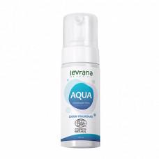 Пенка для умывания   AQUA   с гиалуроновой кислотой   150ml Levrana